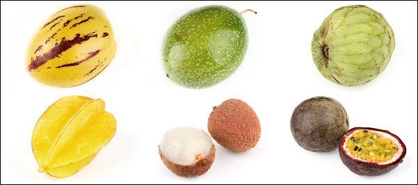 Экзотические овощи и фрукты картинки названия 6